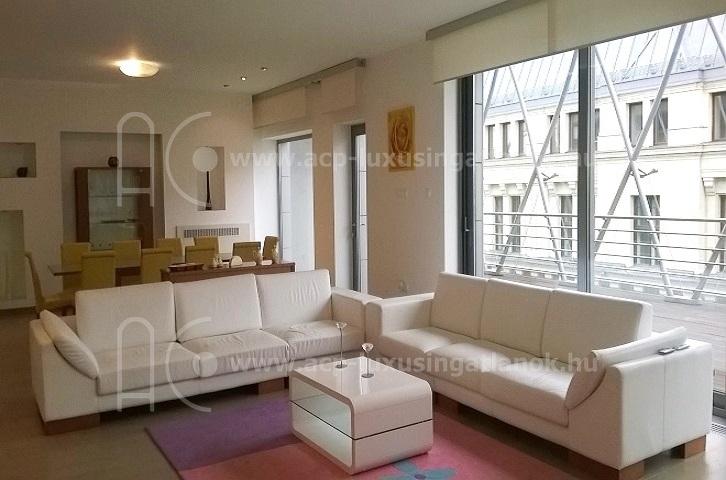 luxus penthouse belv ros acp ingatlan. Black Bedroom Furniture Sets. Home Design Ideas
